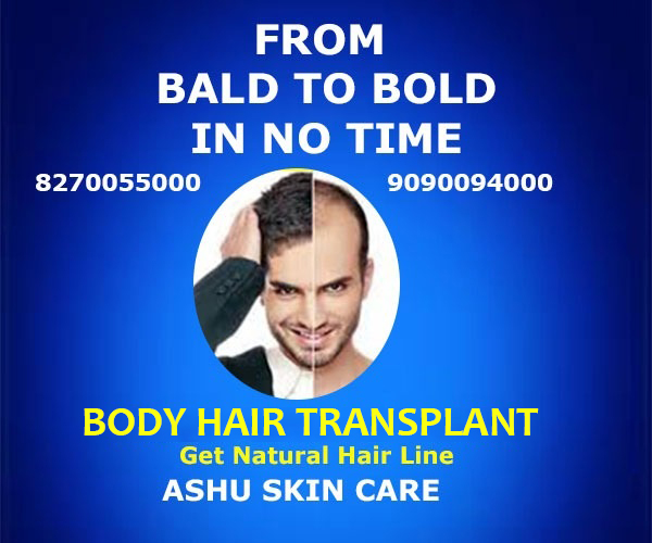 Body Hair Transplant In Bhubaneswar