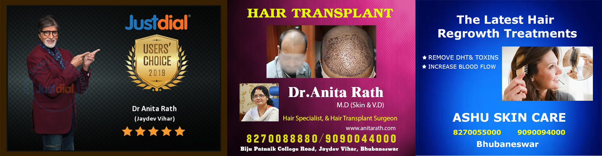 Hair transplant clinic in bhubaneswar